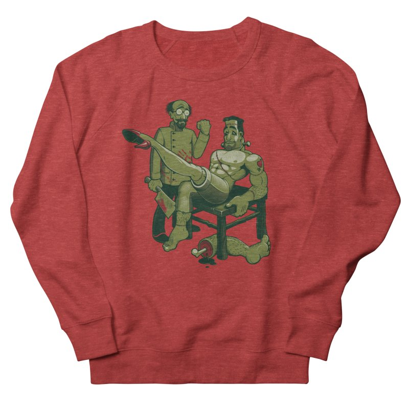 FrankenFine Men's French Terry Sweatshirt by Leon's Artist Shop