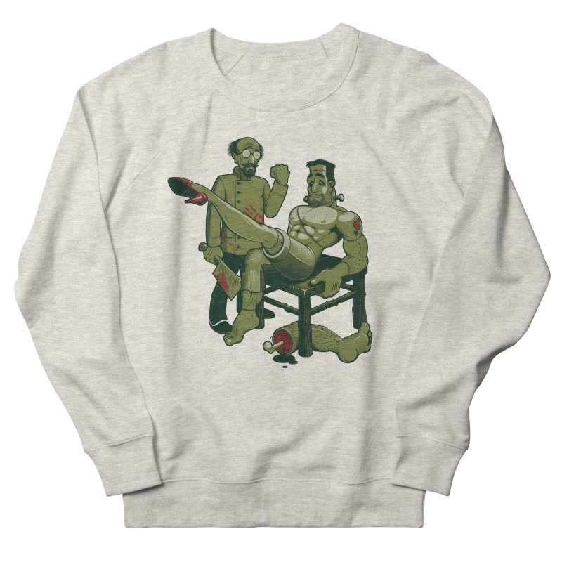 FrankenFine Men's Sweatshirt by Leon's Artist Shop