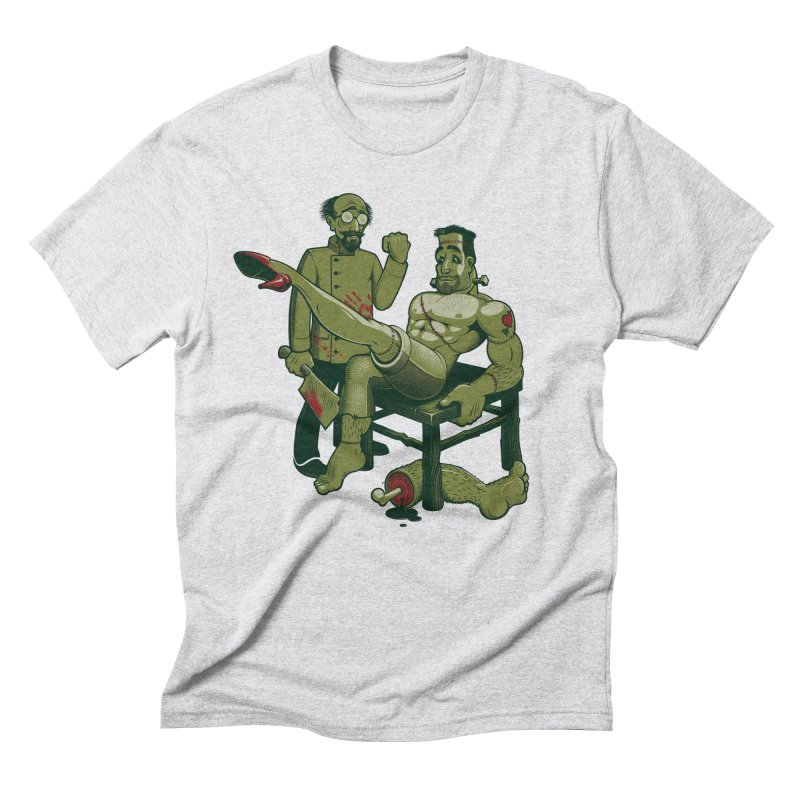 FrankenFine Men's Triblend T-Shirt by Leon's Artist Shop