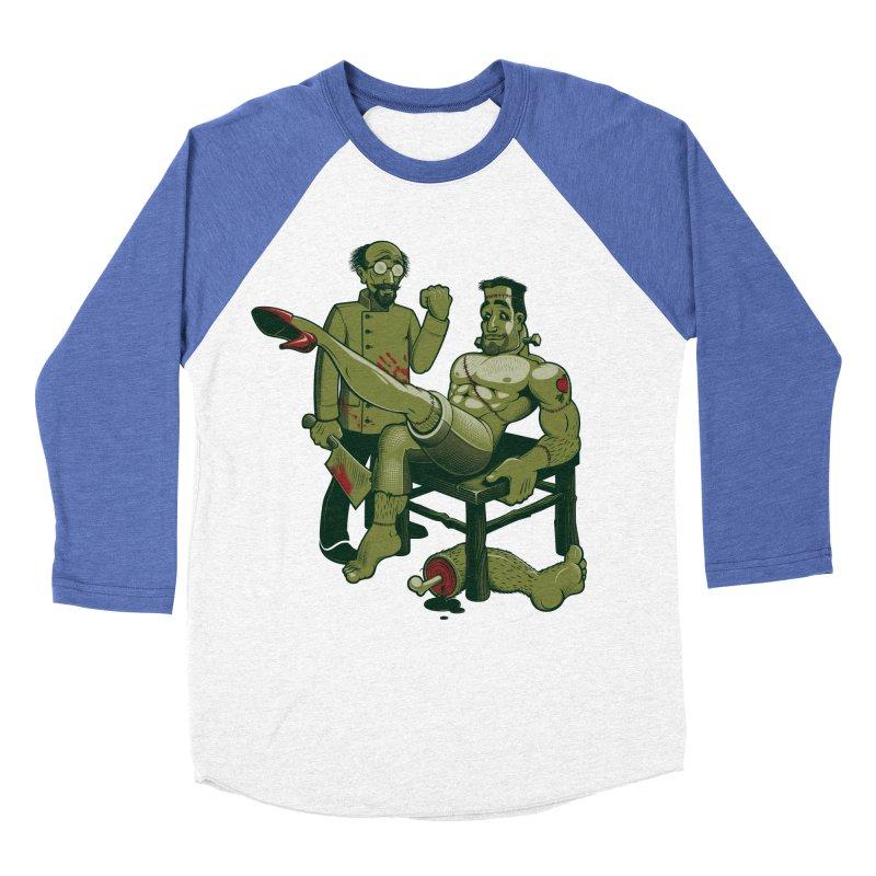 FrankenFine Women's Baseball Triblend Longsleeve T-Shirt by Leon's Artist Shop