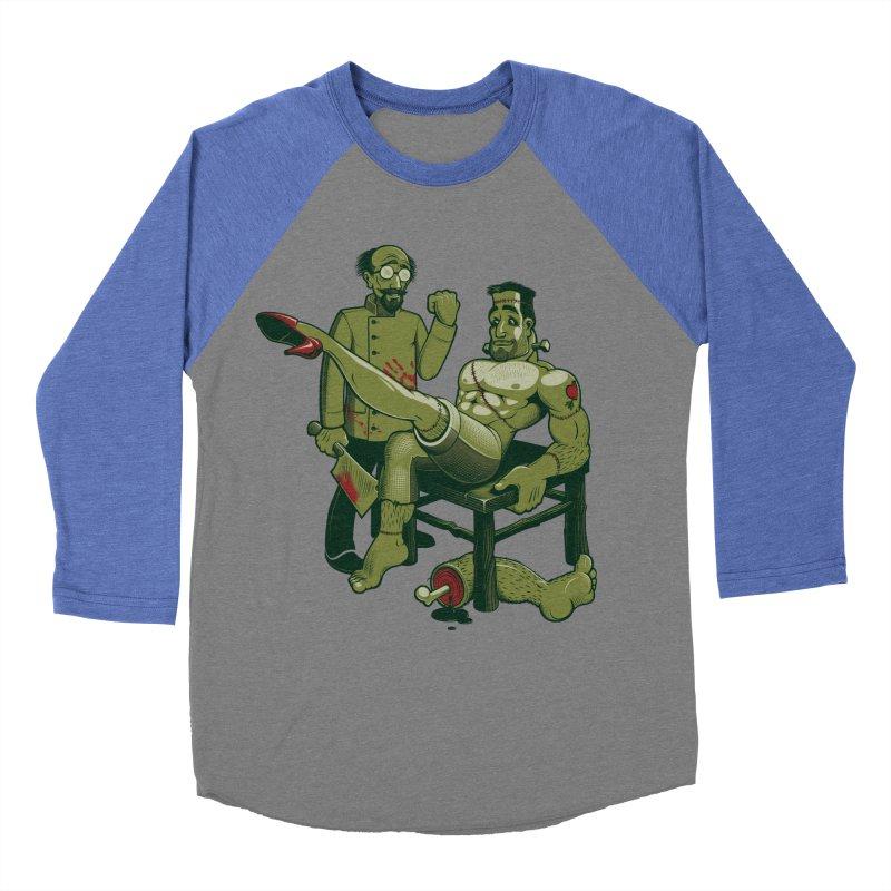 FrankenFine Women's Baseball Triblend T-Shirt by Leon's Artist Shop