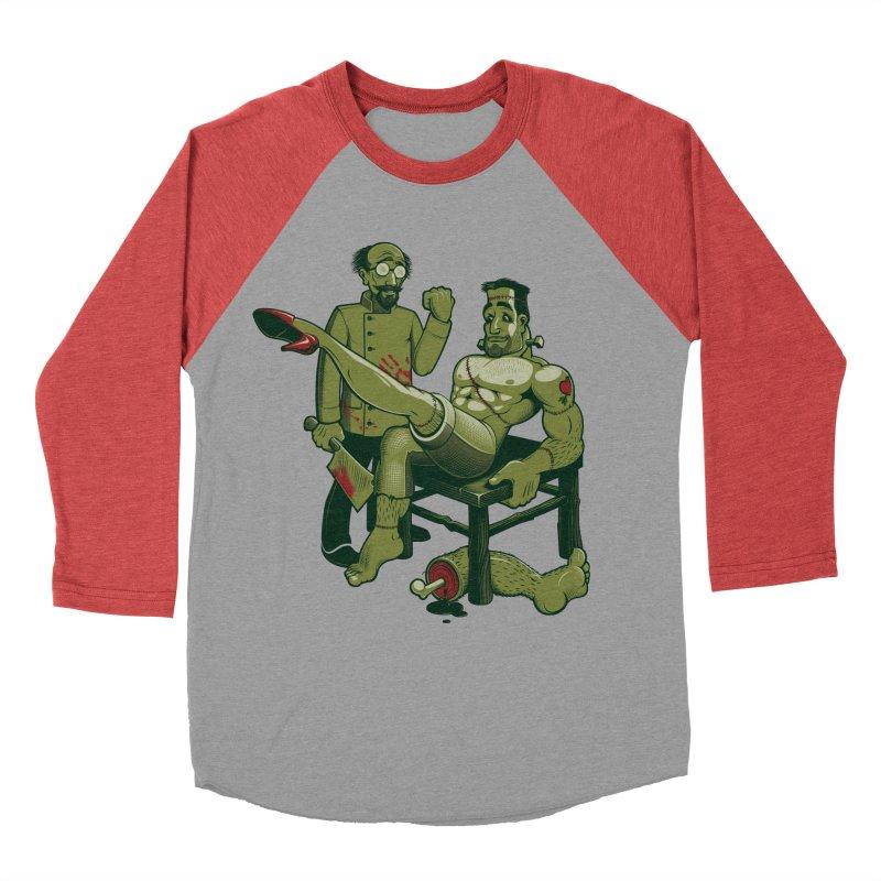 FrankenFine Men's Baseball Triblend Longsleeve T-Shirt by Leon's Artist Shop