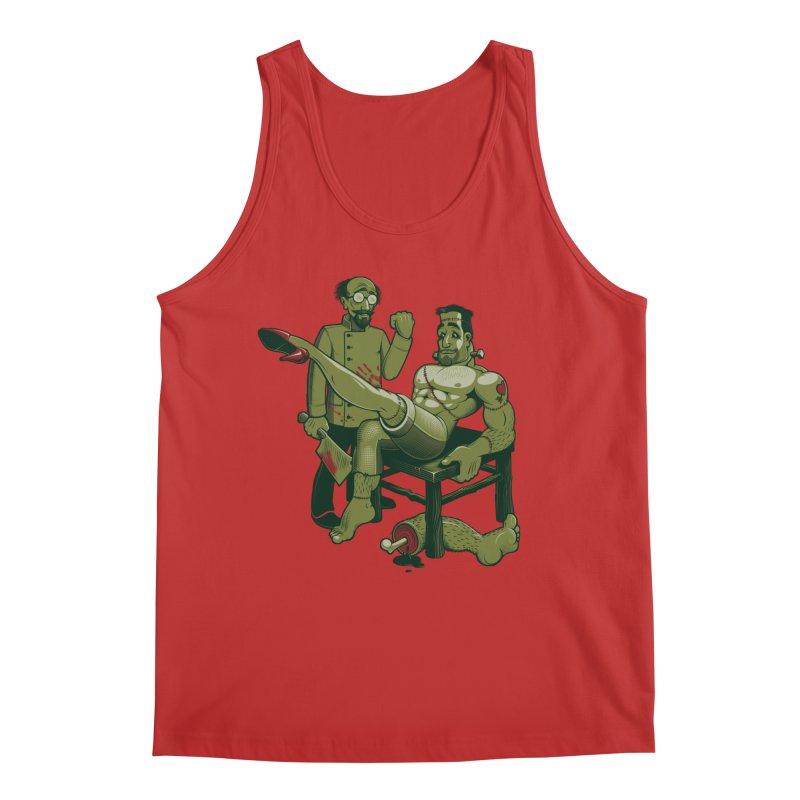 FrankenFine Men's Regular Tank by Leon's Artist Shop