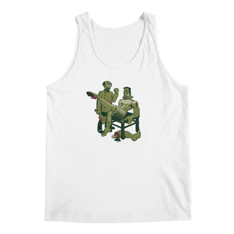 FrankenFine Men's Tank by Leon's Artist Shop