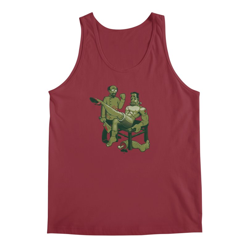 FrankenFine Men's Tank by Leon's Artist Shop