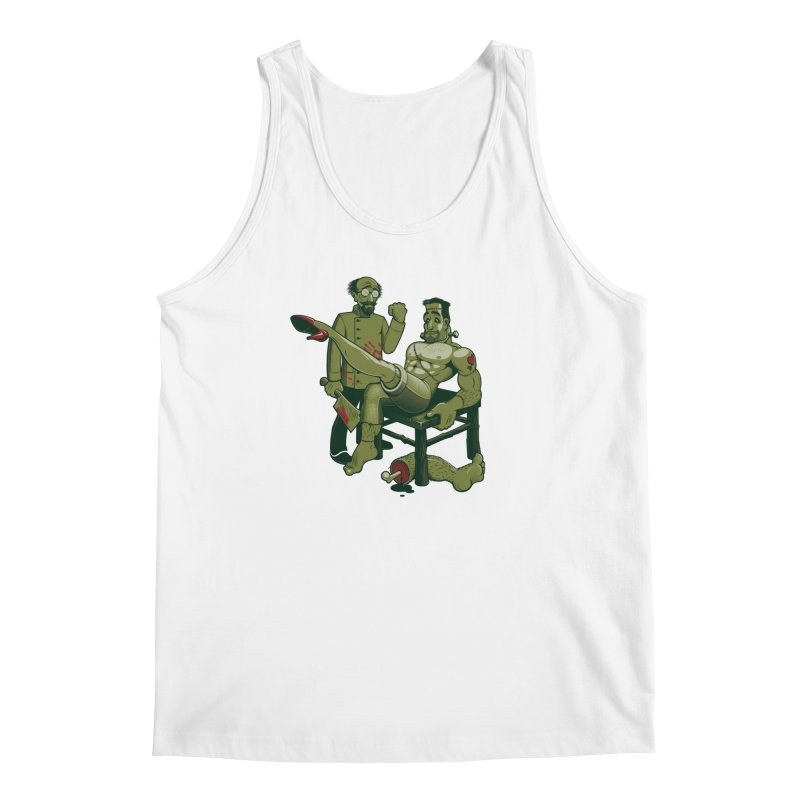 FrankenFine Men's Regular Tank by Leon's Artist Shop