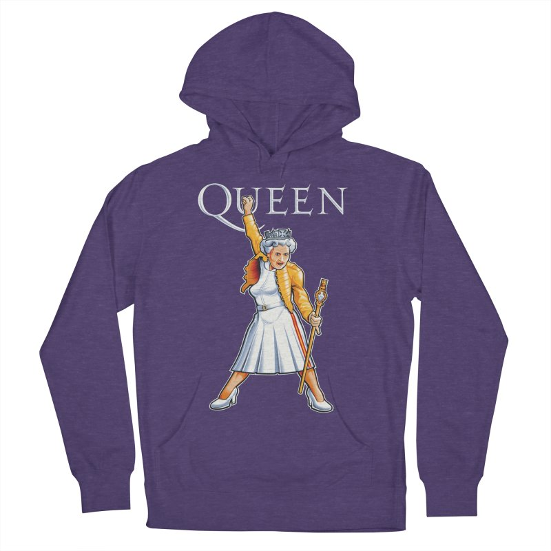 It's a Kind of Monarch Men's French Terry Pullover Hoody by Leon's Artist Shop