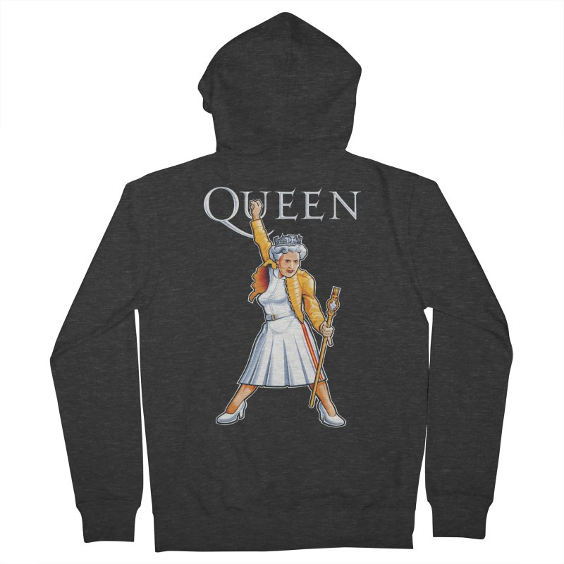 It's a Kind of Monarch Women's French Terry Zip-Up Hoody by Leon's Artist Shop