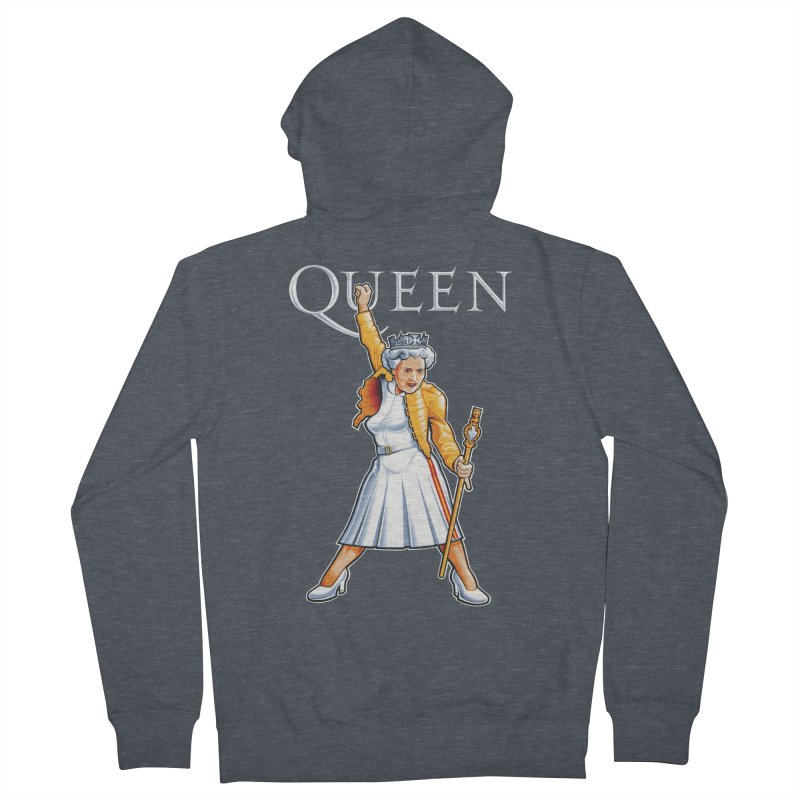 It's a Kind of Monarch Men's French Terry Zip-Up Hoody by Leon's Artist Shop