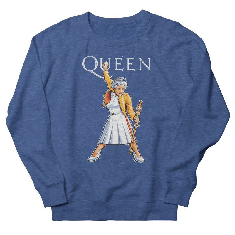 It's a Kind of Monarch Women's French Terry Sweatshirt by Leon's Artist Shop