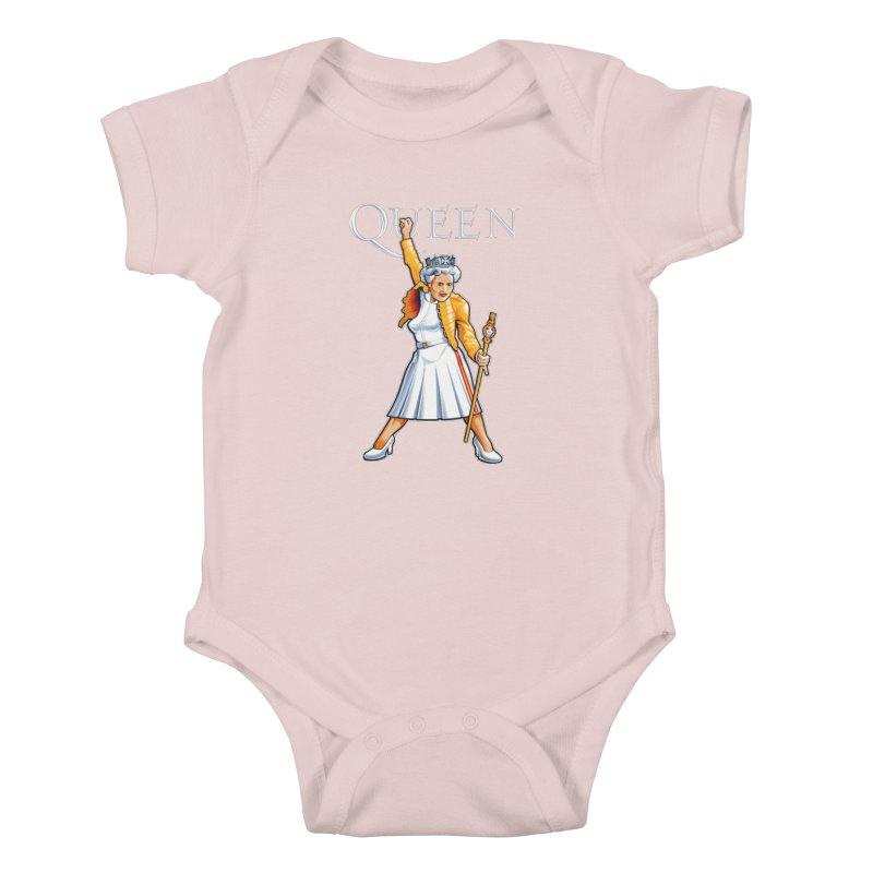 It's a Kind of Monarch Kids Baby Bodysuit by Leon's Artist Shop