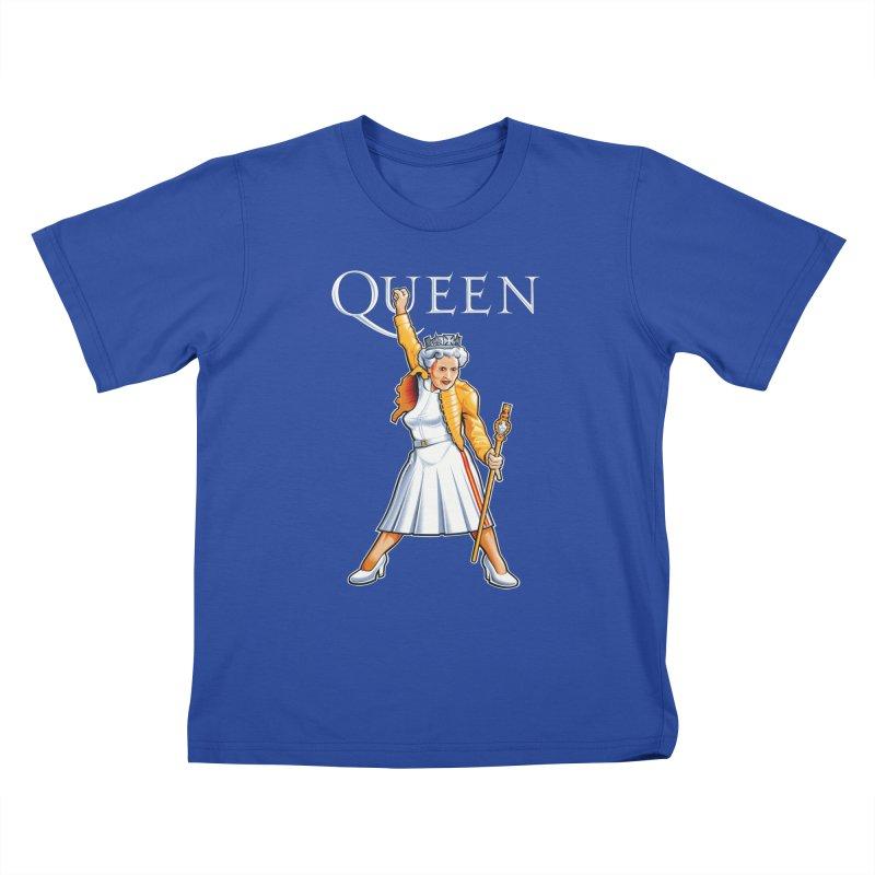 It's a Kind of Monarch Kids T-Shirt by Leon's Artist Shop