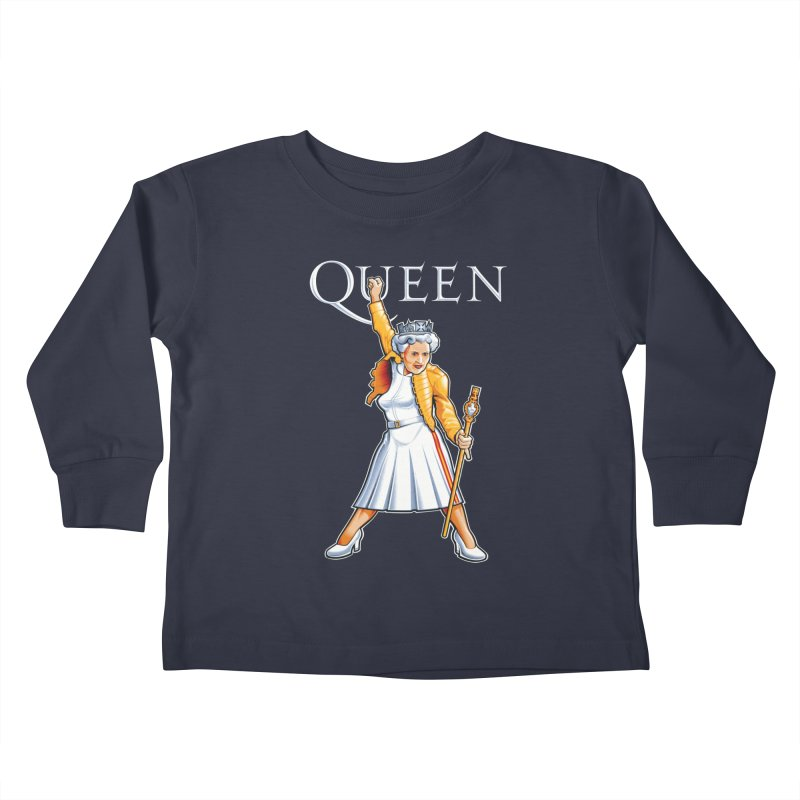 It's a Kind of Monarch Kids Toddler Longsleeve T-Shirt by Leon's Artist Shop