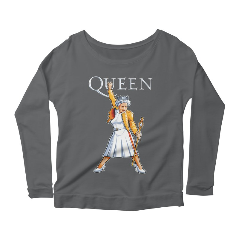 It's a Kind of Monarch Women's Scoop Neck Longsleeve T-Shirt by Leon's Artist Shop