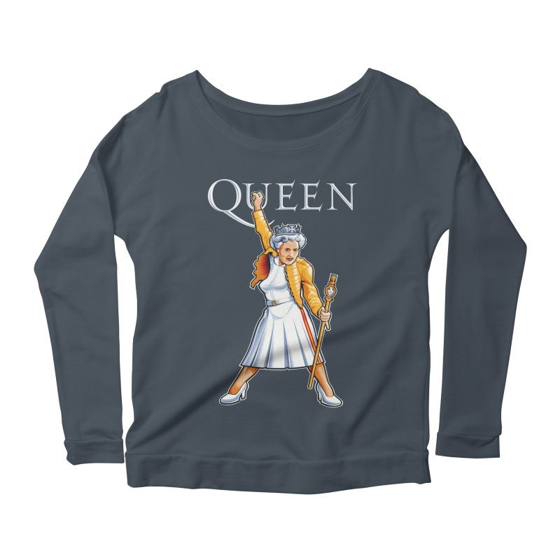 It's a Kind of Monarch Women's Longsleeve Scoopneck  by Leon's Artist Shop