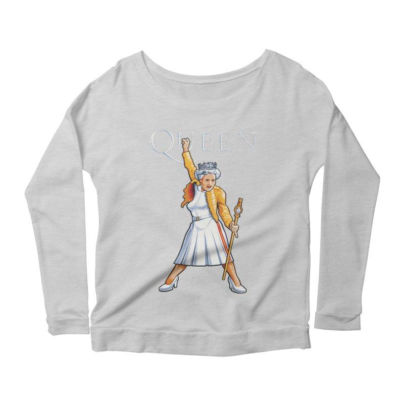 It's a Kind of Monarch Women's Scoop Neck Longsleeve T-Shirt by Leon's Artist Shop