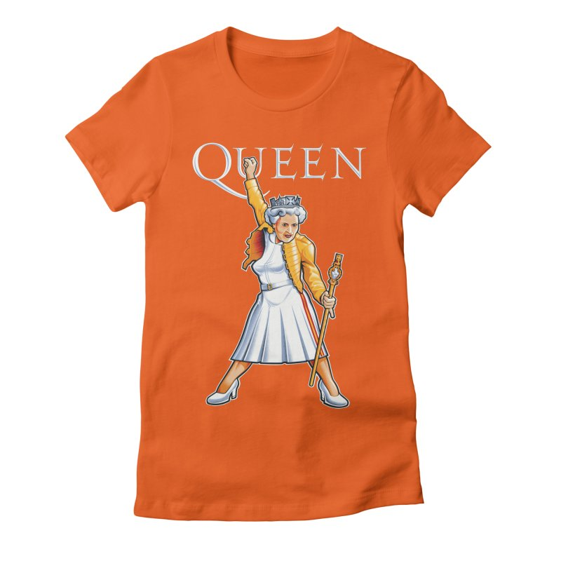 It's a Kind of Monarch Women's Fitted T-Shirt by Leon's Artist Shop