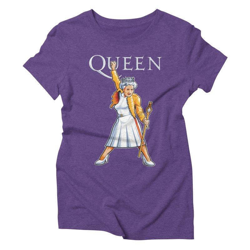It's a Kind of Monarch Women's Triblend T-Shirt by Leon's Artist Shop