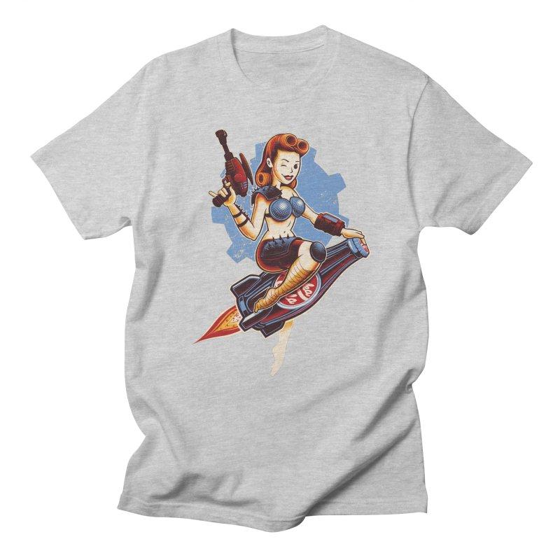 Atom Bomb Baby Men's T-shirt by Leon's Artist Shop