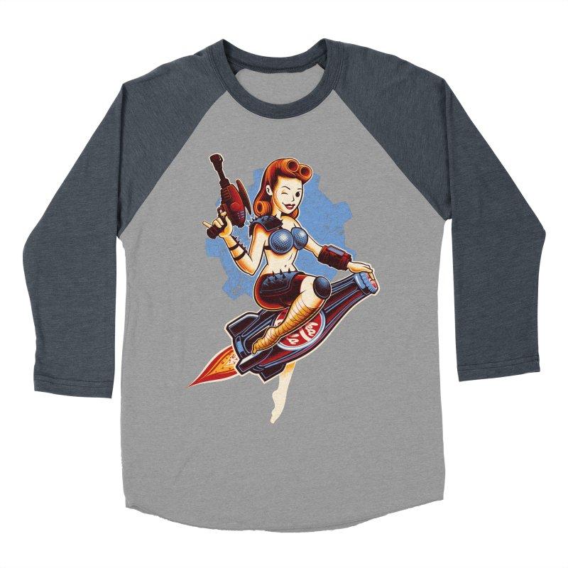 Atom Bomb Baby Women's Baseball Triblend T-Shirt by Leon's Artist Shop