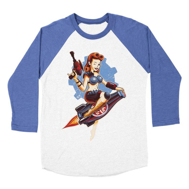 Atom Bomb Baby Men's Baseball Triblend T-Shirt by Leon's Artist Shop