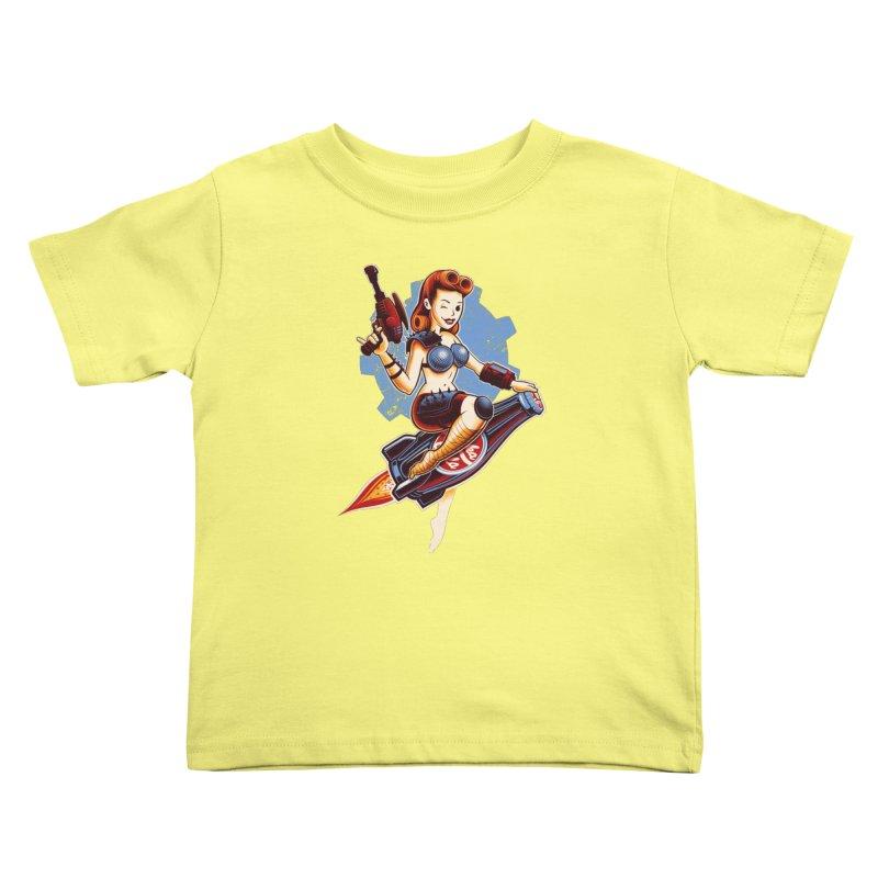 Atom Bomb Baby Kids Toddler T-Shirt by Leon's Artist Shop
