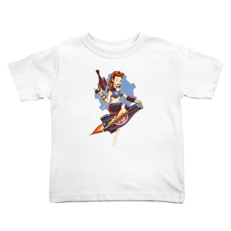 Atom Bomb Baby Kids Toddler T-Shirt by Leon's Artist Shop