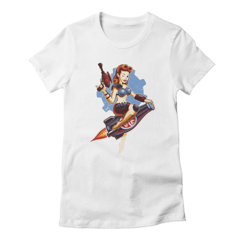 Atom Bomb Baby Women's T-Shirt by Leon's Artist Shop