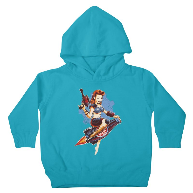 Atom Bomb Baby Kids Toddler Pullover Hoody by Leon's Artist Shop