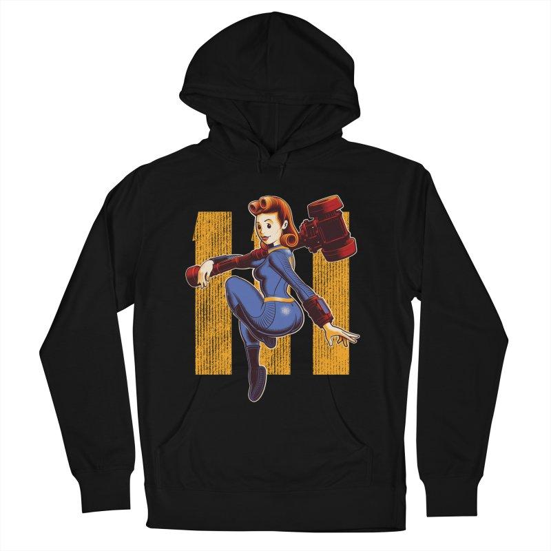 Vault Girl Women's Pullover Hoody by Leon's Artist Shop