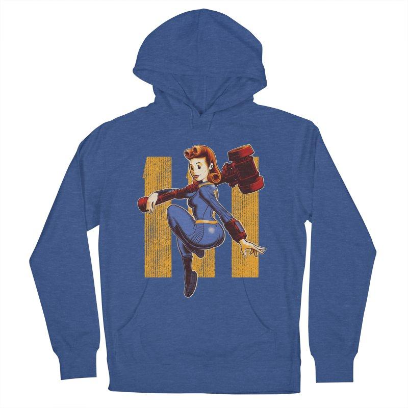 Vault Girl Men's Pullover Hoody by Leon's Artist Shop