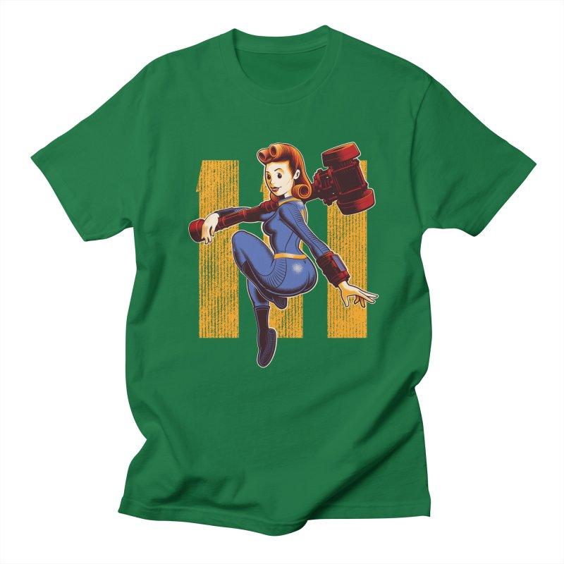 Vault Girl Men's T-Shirt by Leon's Artist Shop