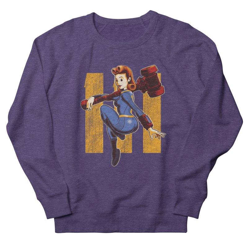 Vault Girl Women's French Terry Sweatshirt by Leon's Artist Shop