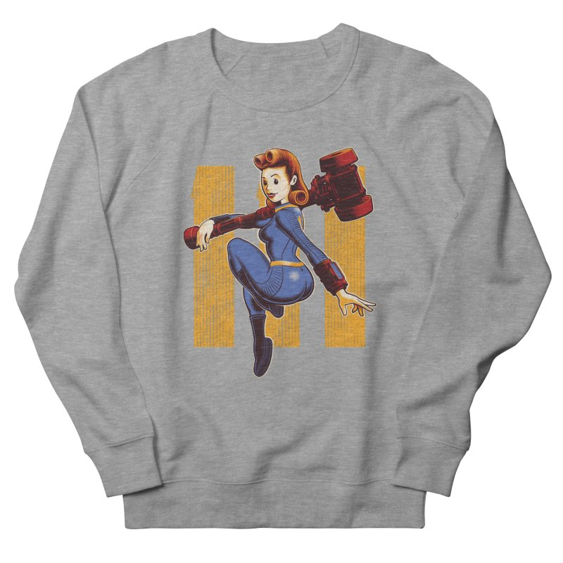 Vault Girl Men's Sweatshirt by Leon's Artist Shop