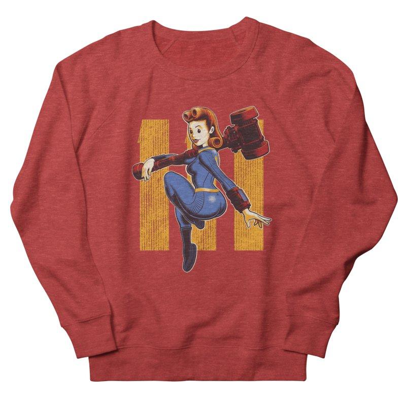 Vault Girl Men's Sweatshirt by Leon's Artist Shop