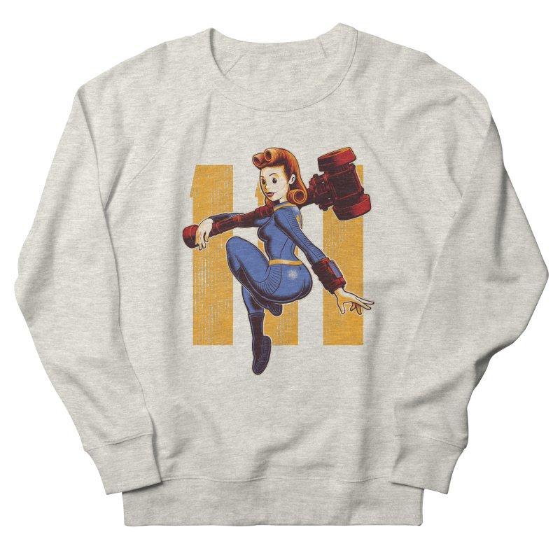 Vault Girl Men's French Terry Sweatshirt by Leon's Artist Shop