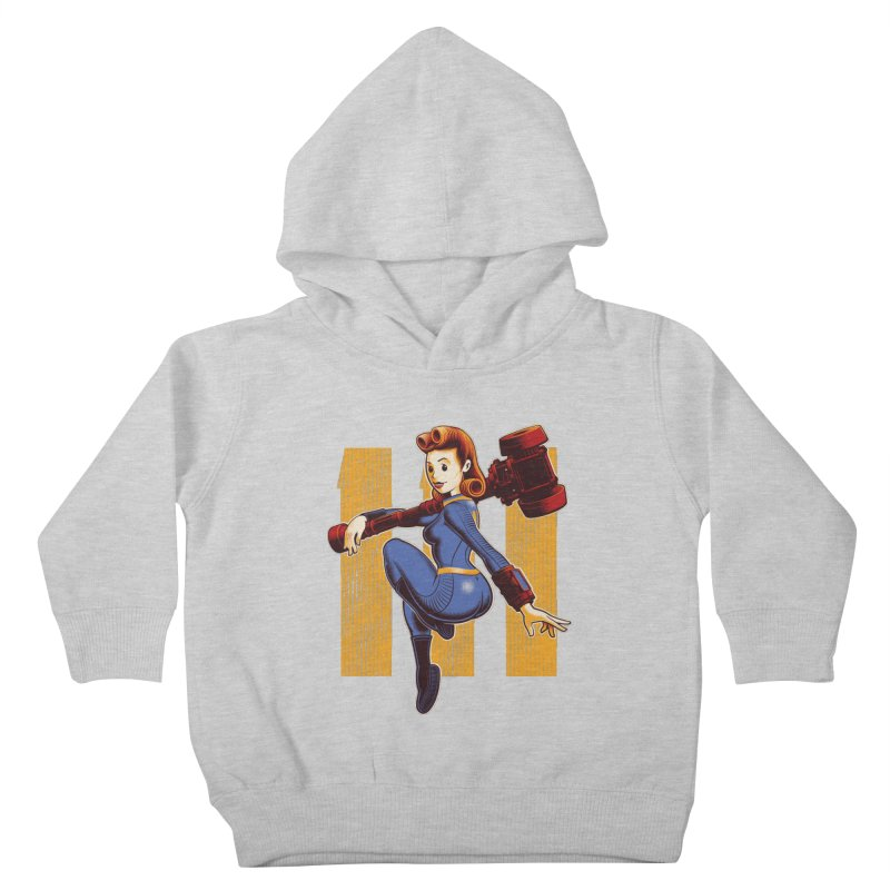 Vault Girl Kids Toddler Pullover Hoody by Leon's Artist Shop