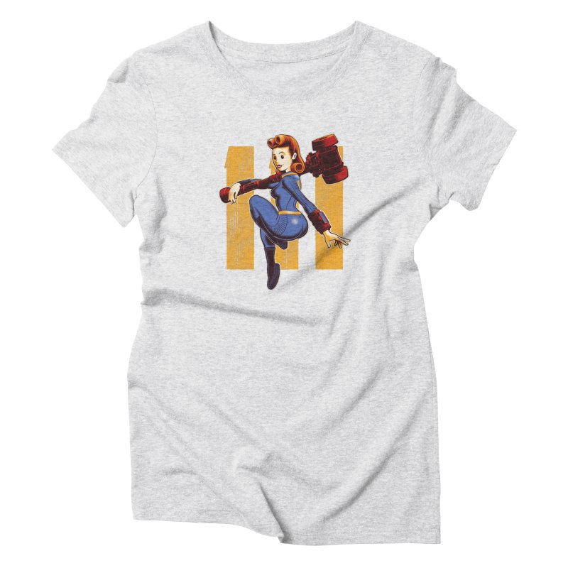 Vault Girl Women's T-Shirt by Leon's Artist Shop
