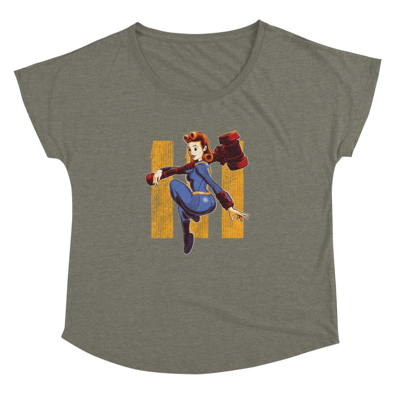 Vault Girl Women's Dolman by Leon's Artist Shop