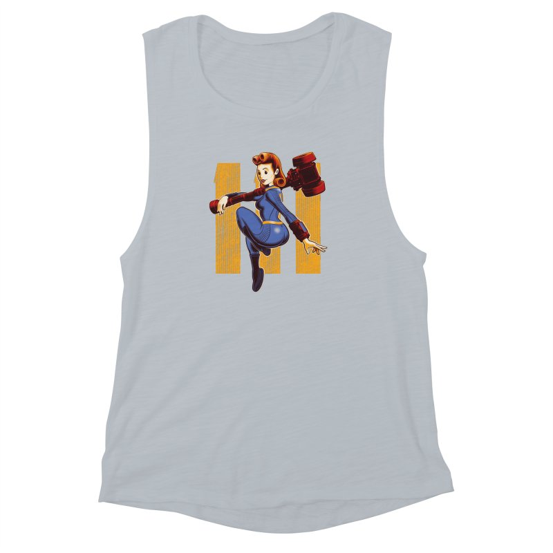 Vault Girl Women's Muscle Tank by Leon's Artist Shop