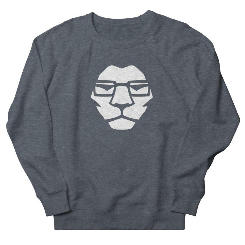 Mr. Lion Men's French Terry Sweatshirt by leonel's Artist Shop