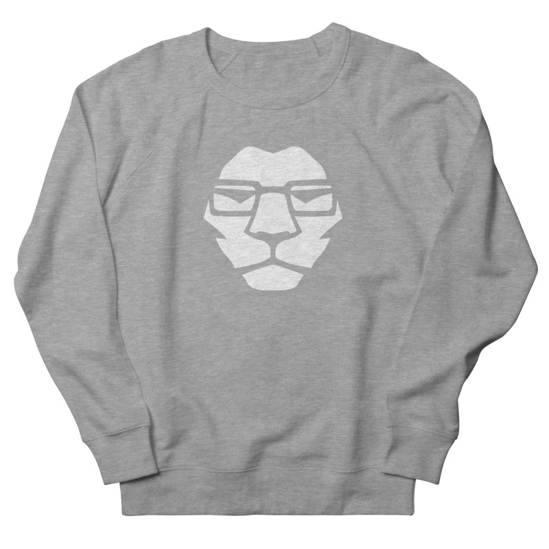 Mr. Lion Men's French Terry Sweatshirt by leonel's Artist Shop