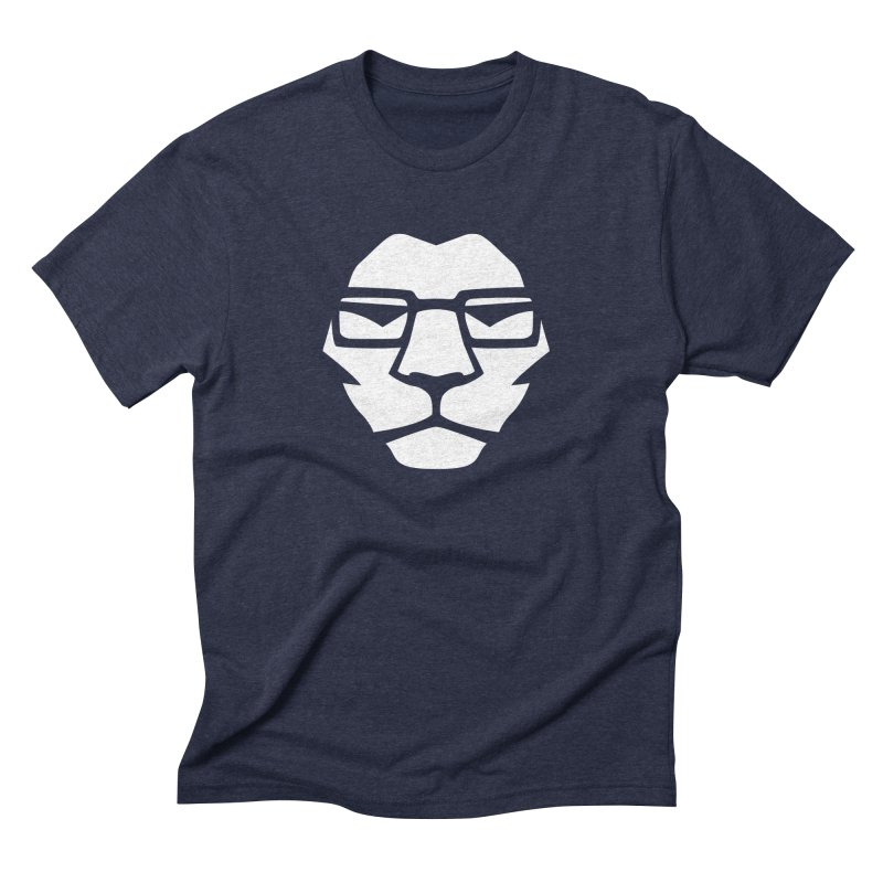 Mr. Lion Men's Triblend T-Shirt by leonel's Artist Shop