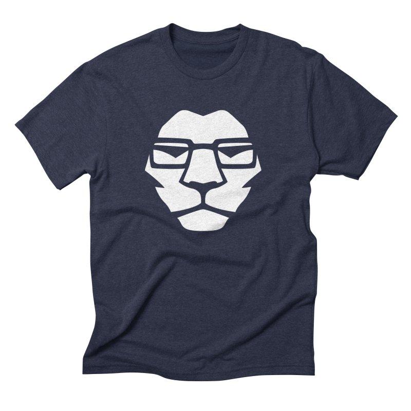 Mr. Lion Men's Triblend T-shirt by leonel's Artist Shop
