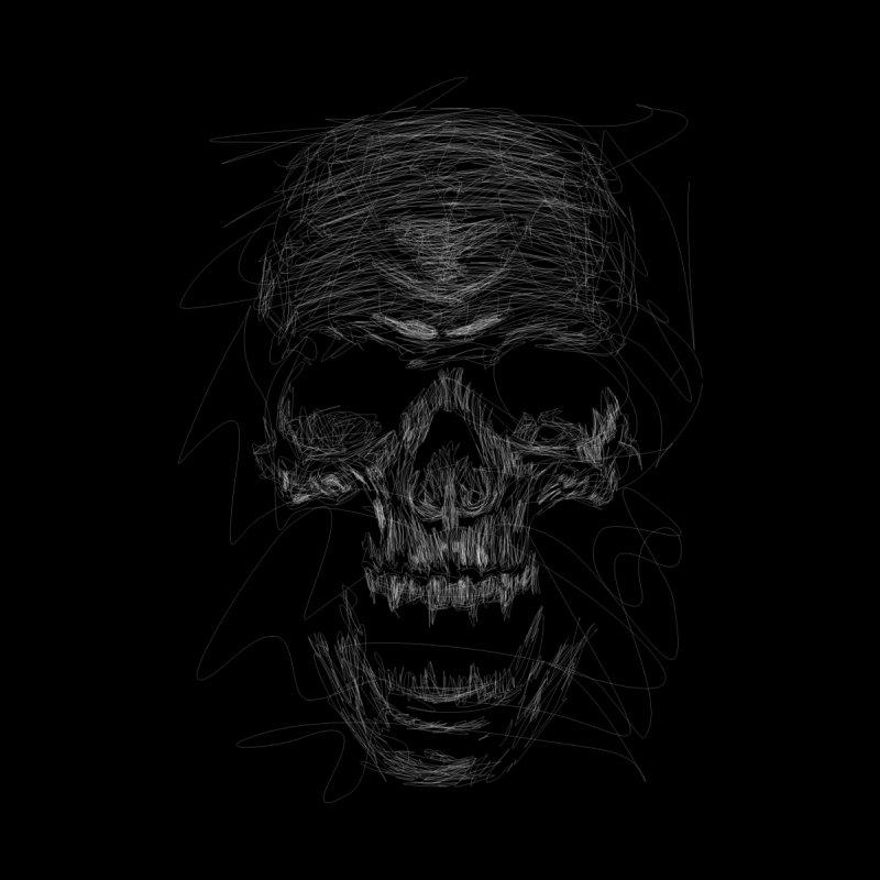 Skull Scribble by leotamaro's Artist Shop