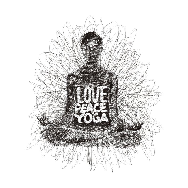 Love Peace Yoga by leotamaro's Artist Shop