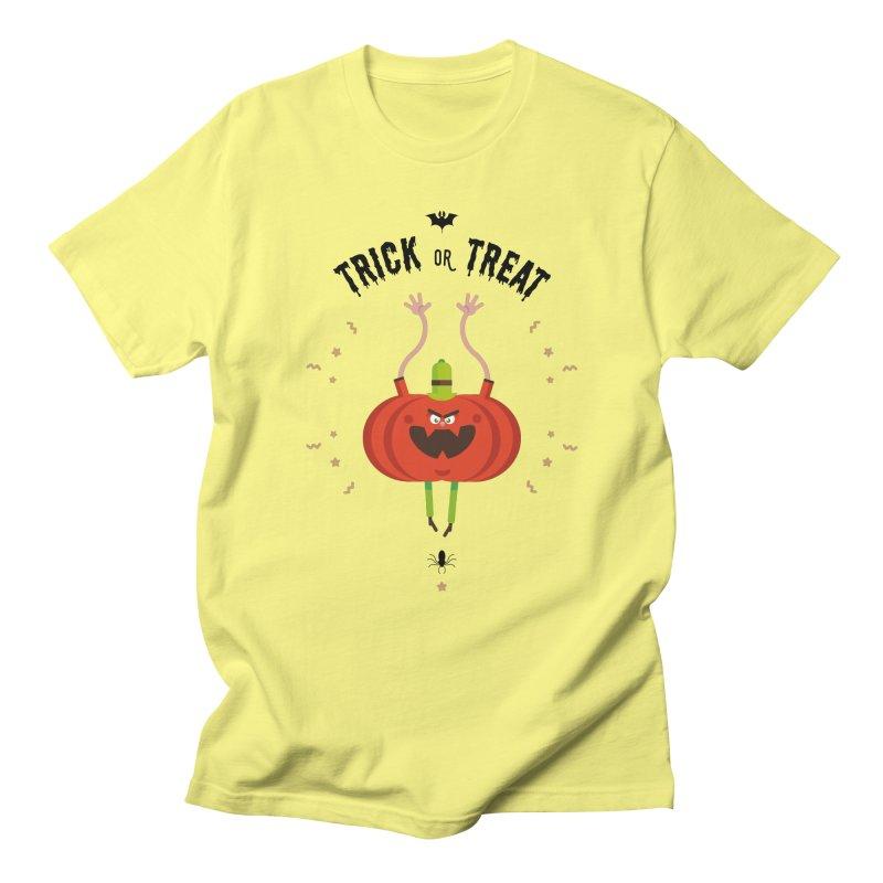 des bonbons ou un sort Men's Regular T-Shirt by lepetitcalamar's Artist Shop