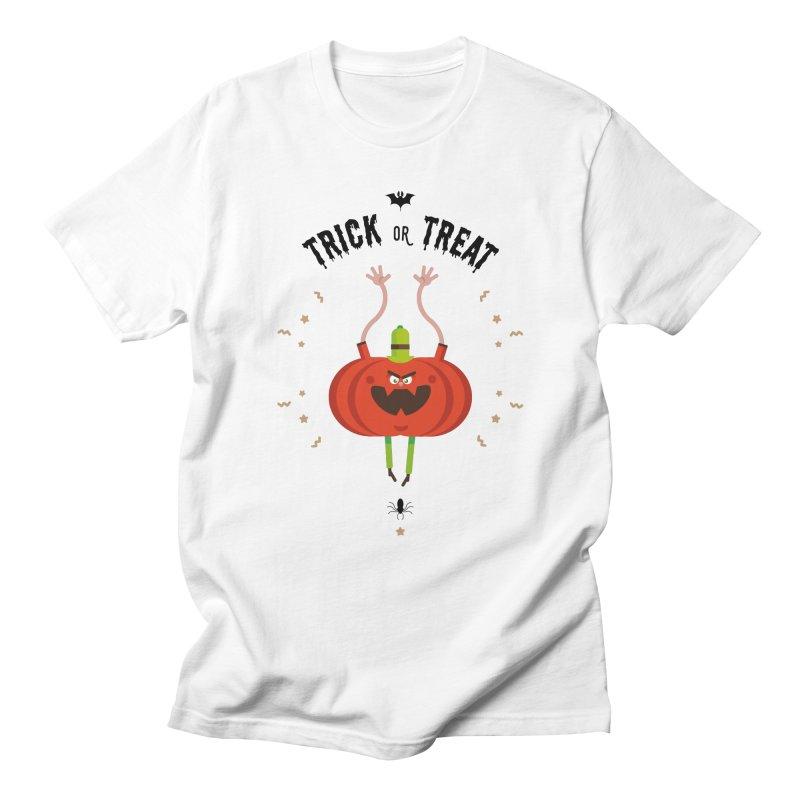des bonbons ou un sort in Men's T-Shirt White by lepetitcalamar's Artist Shop