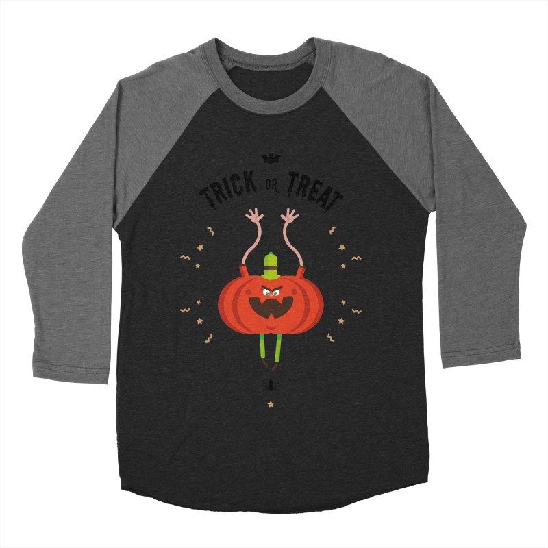des bonbons ou un sort Men's Baseball Triblend Longsleeve T-Shirt by lepetitcalamar's Artist Shop