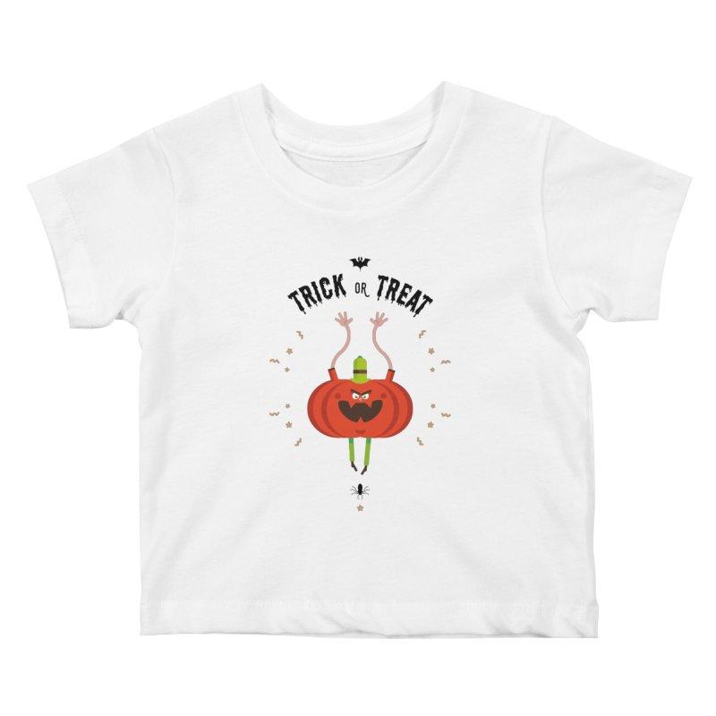 des bonbons ou un sort Kids Baby T-Shirt by lepetitcalamar's Artist Shop